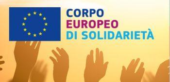 corpo europeo solidarietà